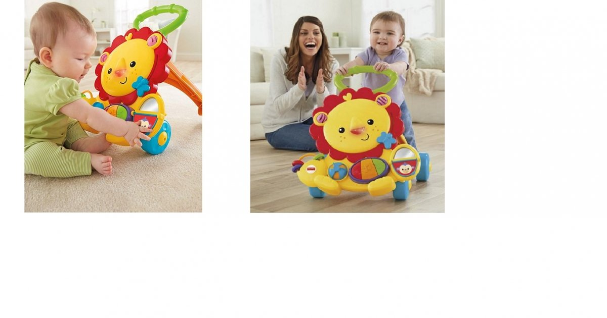 Fisher Price Musical Lion Baby Walker £17.50 @ Tesco Direct