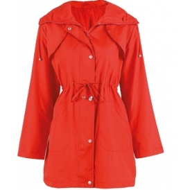 Strawberry Red Raincoat £2 Delivered