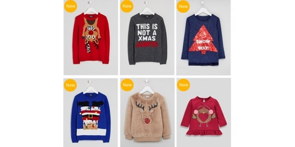 Children's Christmas Jumpers New In @ Matalan