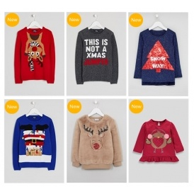 Children's Christmas Jumpers New In