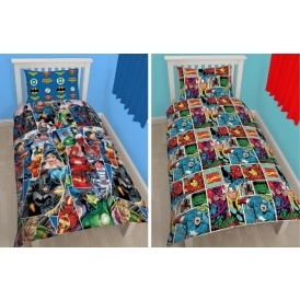 Marvel & DC Comics Duvet Sets £10.80