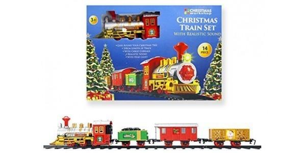 Musical Christmas Train £12.99 @ The Range