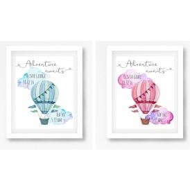 Personalised Nursery Art Print £5