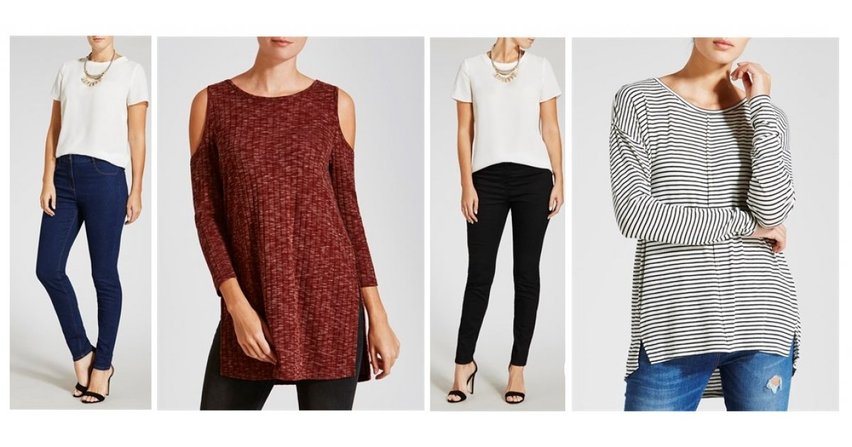 Ladies 2 For 163 15 Tops And Jeans Matalan