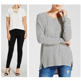 Ladies 2 For £15 Tops and Jeans @ Matalan