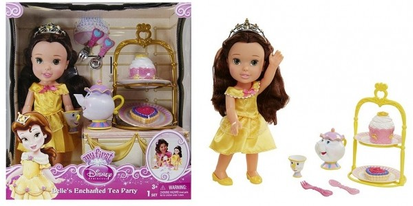 Disney Princess Belle's Enchanted Tea Party Doll £20 (Was £40) @ Tesco Direct
