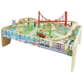 Carousel Train Table Set £30