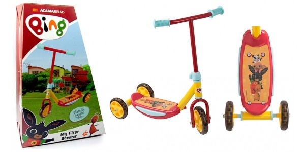 1/2 Price Bing Bunny 3 Wheeled Scooter Now £12.50 @ The Entertainer