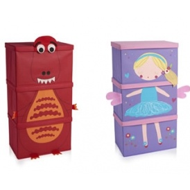 Children's Stacking Storage Boxes £10 for 3