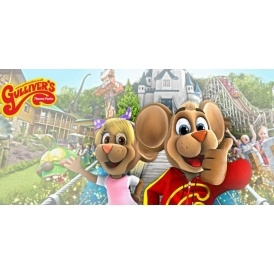 £9 Gulliver's Theme Park Tickets