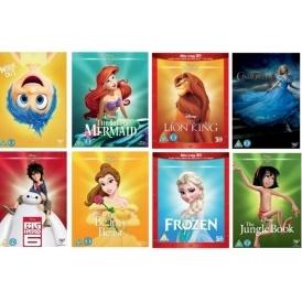 Disney DVDs 2 for £12