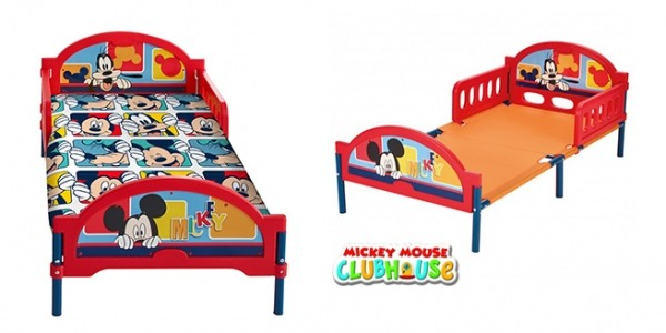 Disney Mickey Mouse Cosytime Toddler Bed Frame £29.99 @ Home Bargains