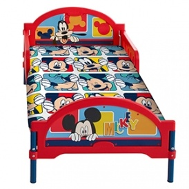 Disney Mickey Mouse Cosytime Toddler Bed