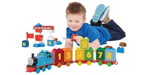 Mega Bloks Thomas Learning Train £8.59 @ Argos