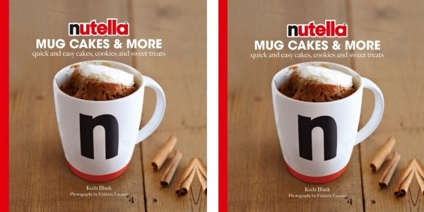 Nutella Mug Cakes & More Recipe Book £3.59 (Using Code) @ The Book People