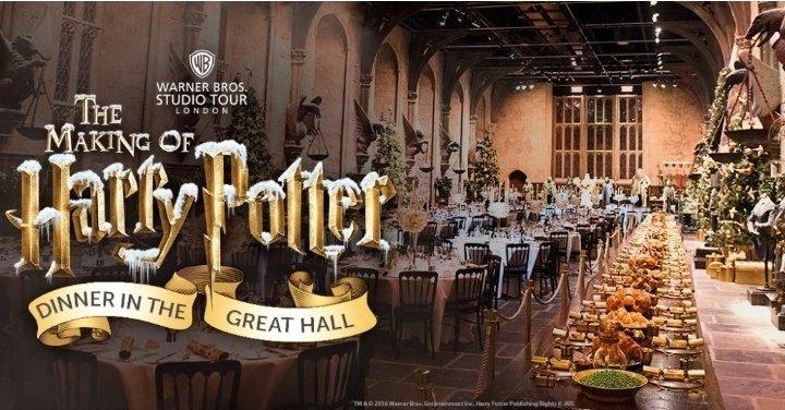 Enjoy Christmas Dinner At Hogwarts The Making Of Harry