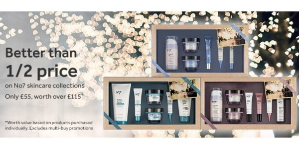 Better Than Half Price No 7 Gifts @ Boots