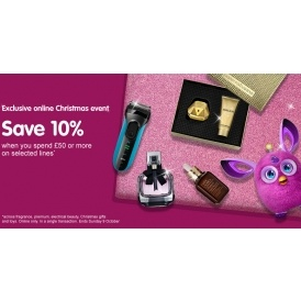 3 For 2 + 10% Off £50 @ Boots