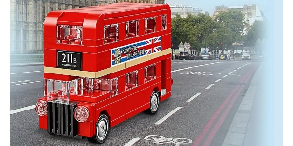 FREE Lego London Bus With Orders Over £50 @ Lego Shop