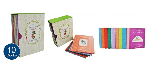 Peter Rabbit Library Collection Now £10.39 (Using Code) @ The Works (Expired)