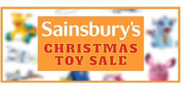 Sainsbury's Half Price Toy Sale Now On!