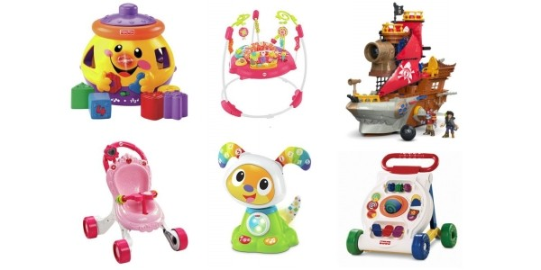Up To Half Price On Fisher-Price Toys @ Argos