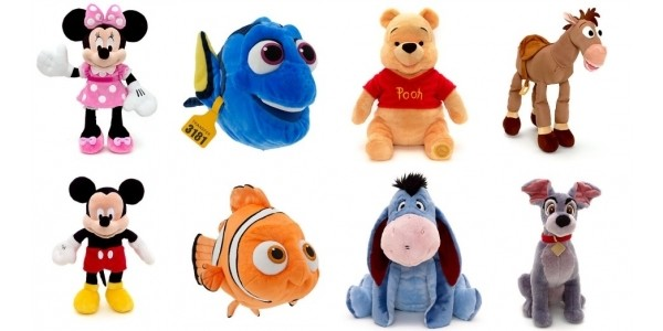 Buy One Get One For £1.99 On Medium Soft Toys @ The Disney Store