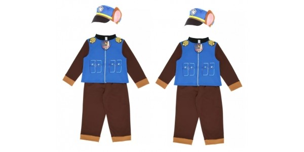 Paw Patrol Chase Dressing Up Costume £15 @ Peacocks