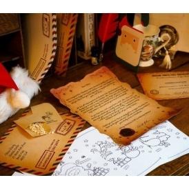 Santa Scrolls With Reindeer Food From £2
