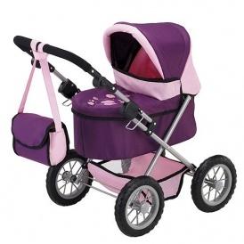 1/2 Price Purple Dolls Pram & Changing Bag