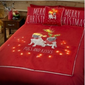 Pugs & Kisses Christmas Items From £5.99
