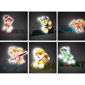 Paw Patrol Mini 3D LED Lights £12.99