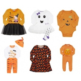 Baby & Kids Halloween Clothing From £1.50