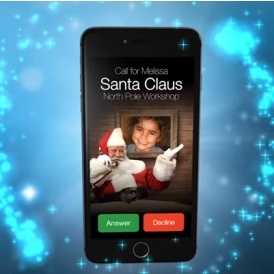 FREE Personalised Phone Call From Santa