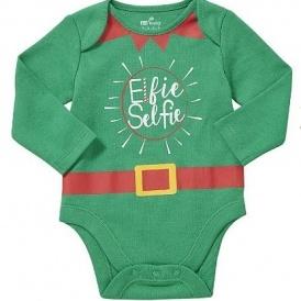 Elfie Selfie Baby Bodysuit £2