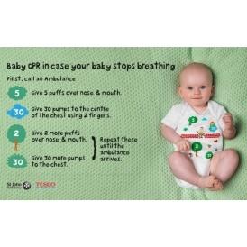 FREE 'Life Saving' CPR Babygrow
