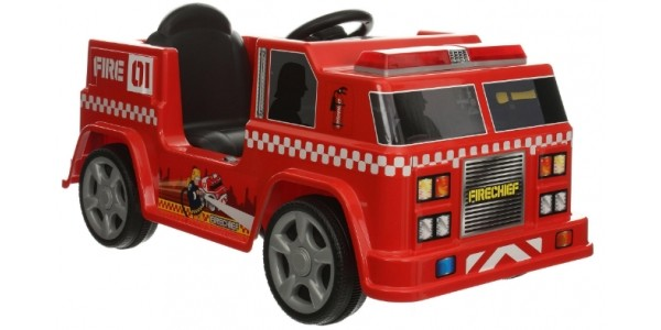 Half Price Firechief Electric Ride On Fire Engine @ Halfords