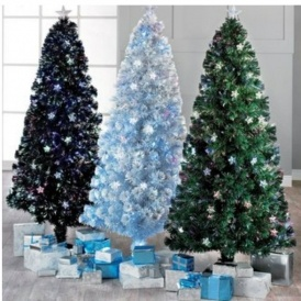 6ft Fibre Optic Star Christmas Tree £29.99