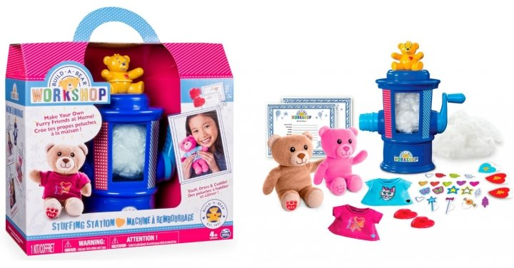 Build A Bear Com Stuffing Station