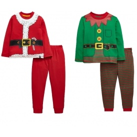 childrens christmas pyjamas from 10 very - Childrens Christmas Pyjamas