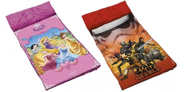 Disney Princess or Star Wars Sleeping Bag £7.50 (was £12) @ Tesco Direct