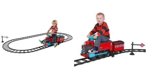 Chad Valley Powered Ride On Train & Track Set £64.99 @ eBay: Argos