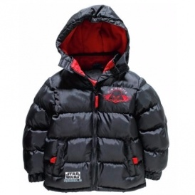 Star Wars Boys' Black Puffer Coat £9.99+