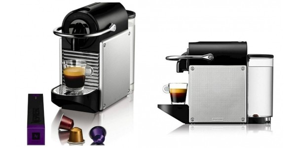 Nespresso Pixie Coffee Machine by Magimix - Aluminium £59 Delivered @ Amazon/Currys