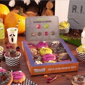 Halloween Coming Soon To Krispy Kreme