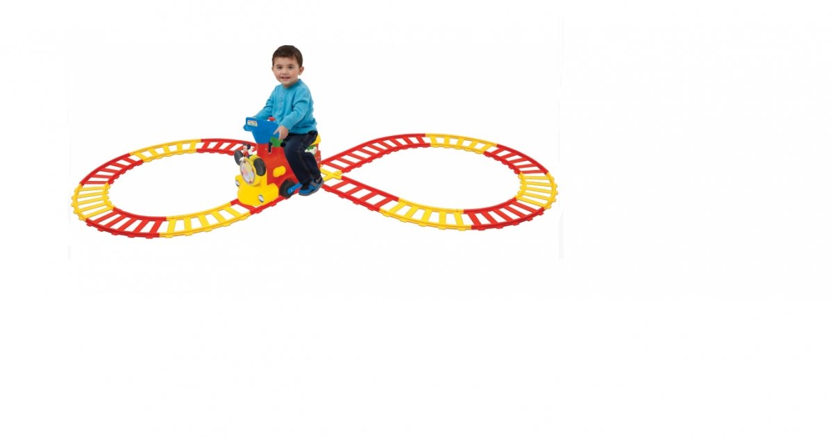 2 In 1 Battery Powered Mickey Mouse Activity Choo Choo Train 50