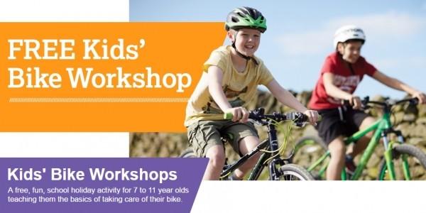 FREE Kids' Bike Workshops @ Halfords
