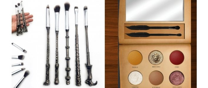 Check Out These Harry Potter Makeup Brushes!