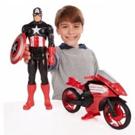 Captain America & Motorbike £12.49