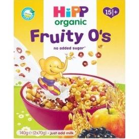 RECALL: HiPP Organic Fruity O's Cereal